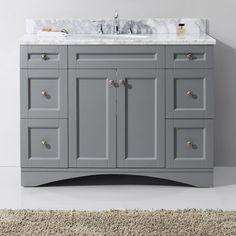 "Found it at Joss & Main - Emily 48"" Single Bathroom Vanity & Mirror Set"