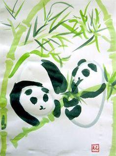 Artsonia Art Gallery - 4th - Chinese Brush Painting (Sumi-e)