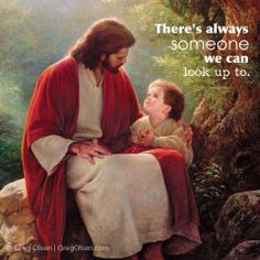 You think you or your child or someone else you love needs a role model, Jesus is just waiting for the invite.