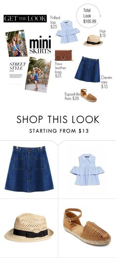 """""""simple yet chic weekend style"""" by evagonzalez ❤ liked on Polyvore featuring Chiara Ferragni, Chicnova Fashion, DV and Forever 21"""