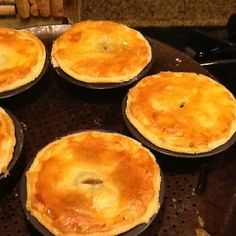 Aussie meat pies, secret ingredient vegimite or vegetable stock cube