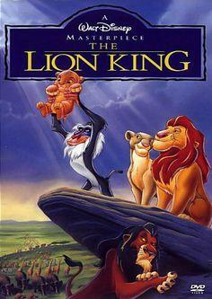 O Rei Leão (um dos filmes que eu vi mais vezes na vida. e um dos que mais me fizeram chorar até hj...)