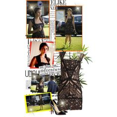 """""""Elea Gilbert 4x07 - My Brother's Keeper"""" by iced on Polyvore"""