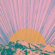 Rising Sun Art Print by Hallwood