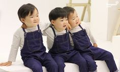We are the song brothers Superman Baby, Cute Kids, Cute Babies, Triplet Babies, Korean Tv Shows, Man Se, Song Triplets, Song Daehan, Baby Corner
