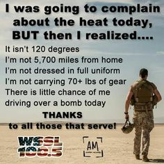 For real! Remember this when you go to complain about anything. It literally could always be worse!