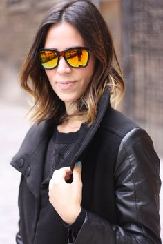 Black, leather, cutouts and brunch….