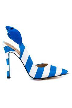 Taylor Says Romantique-Blue Heels