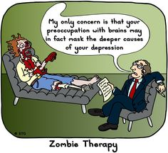 Zombie therapy.
