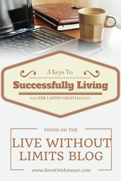 """Many people want to, but just don't know what it will take to """"live the laptop lifestyle""""...this post makes some great points."""