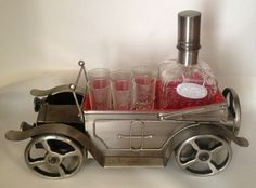 Vintage Car music box decanter