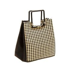 New Yorker Insulated Designer Bag- includes ice pack -Blk & Wht Houndstooth Pattern by MEDport, LLC, http://www.amazon.com/dp/B00814RZR8/ref=cm_sw_r_pi_dp_4ugxqb1K2H5FX