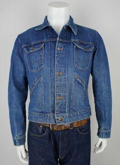 70's Indigo Jacket