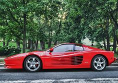 Ferrari Testarossa #OldSchool #CarFlash