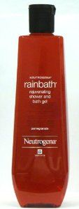 Neutrogena Rainbath Rejuvenating Shower and Bath Gel, Pomegranate Fragrance, 40 Oz Bottle (Pack of 2) by Neutrogena. $34.89. Neutrogena Rainbath Rejuvenating Shower and Bath Gel. Cleans, softens and conditions skin without a heavy leave-behind residue. With its fresh pomegranate fragrance. Your skin is left in better condition - feeling smooth, soft and rejuvenated. Neutrogena Rainbath Rejuvenating Pomegranate Shower and Bath Gel softens and conditions skin with...
