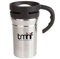 D738BK Double wall travel mug Stainless steel outershell with thermoplastic lining Secure screw on lid Available in Black, Blue, Green, Orange, Purple, Red and Yellow Holiday Drinkware, Purple, Blue Green, Yellow, Travel Mug, Stainless Steel, Orange, Mugs, Tableware