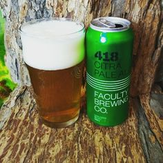 """From Faculty Brewing in Vancouver comes their """"Citra Pale Ale"""". For the full review click on the link below.   http://wp.me/p2vssO-evP"""