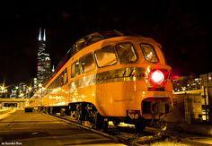 Travel on a heritage train to Chicago - Simon Pielow