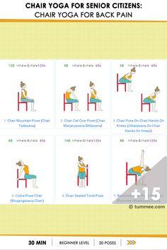 chair yoga  chair yoga chair moon salutation  chair