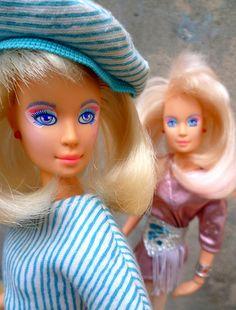Jem / Jerrica Benton  jem the holograms habro by super.star.76, via Flickr I have this doll!