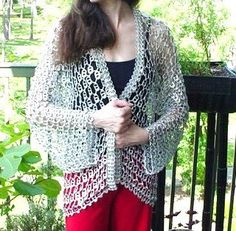 Pull Tab Crochet Jacket by PopTopLady on Etsy, $300.00    Wow @Karen White you and Jimmy could start a business!! $300 for this...hmmm