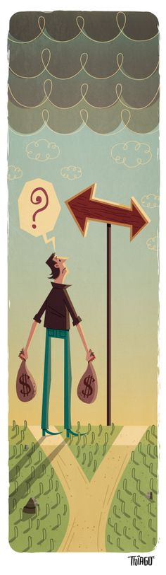 Man on the way by Thiago Fagundes, via Behance