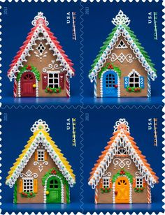 ideas for gingerbread houses