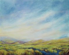 Beyond the Meadow by Carole Moore. #ugallery