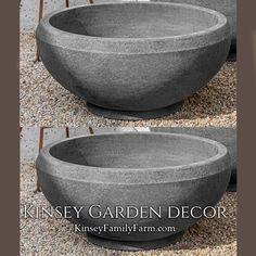 Giulia Planter Extra Large Outdoor Bowl Pot | Kinsey Garden Decor