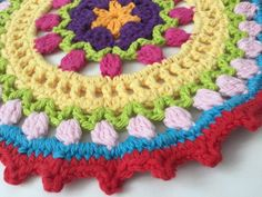 Michelle's #Crochet Mandalas For Marinke