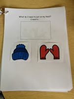 """Practically Speeching: """"It is Snowing"""" FREEBIE - following directions, receptive language activities!"""