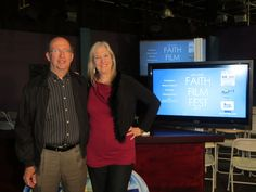 Fred and Sharon Wilharm at Faith Film Fest
