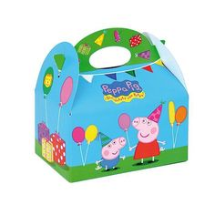 Shop for all the essential party supplies you need for a great Peppa Pig Party. So invite Peppa Pig into your home for the best Birthday Party Ever! Party Food Boxes, Party In A Box, Party Bags, Party Favors, Picnic Birthday, Pig Birthday, 2nd Birthday Parties, Birthday Ideas, Sister Birthday