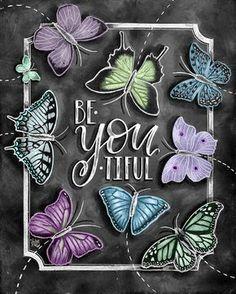 ♥ Be•YOU•tiful ♥ ♥ L I S T I N G ♥ Each image is originally hand drawn with chalk
