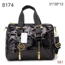 I will kill for this Black sequence Michael Kors purse