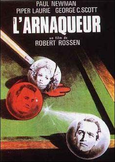 """l'arnaqueur. 1961 . """"The Hustler"""" (original title)"""