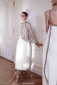 Resultado de imagem para chanel couture white gown