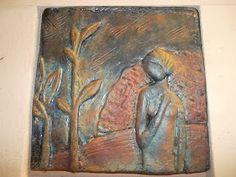 Gothic Angel, Sculpture Art, Decoupage, Texture, Metal, Diy, Painting, Polymers, Garden