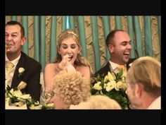 I'm doing this for someone, or someone is going to do this to me on my wedding XD this is the funniest best man speech I've ever heard XD