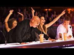 Contestant: l was born at a young age America's got talent judges: - iFunny :) Got Talent Show, Americans Got Talent, Music Sing, Family Feud, Prank Videos, Buzzer, Funny Games, Best Tv, Best Memes