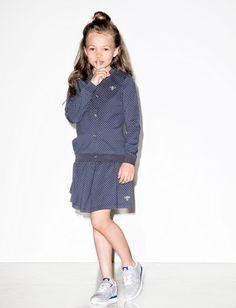 I love this old skool cardigan & skirt van Hummel kids. Old Skool, High Neck Dress, Vest, Skirts, Dresses, Fashion, Turtleneck Dress, Gowns, Moda