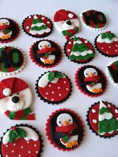 Christmas Cupcakes on Pinterest Christmas Cupcakes ...
