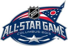 The 2013 NHL All-Star Game logo, developed by Frederick & Froberg Design and NHL Creative Services, was inspired by the Ohio state flag that anchors the Columbus Blue Jackets team identity as well as the team's close association with Ohio's Civil War history. #NHL #CBJ