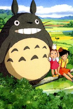 """Frank Tells Liz What Happened In """"My Neighbor Totoro"""" « Liz Tells Frank What Happened In… Hayao Miyazaki, Girls Anime, Anime Guys, Zoro Roronoa, Anime Manga, Anime Art, Totoro Merchandise, Studio Ghibli Movies, Little Girls"""
