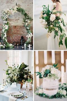 Latest Wedding Trends - Greenery