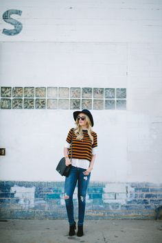 There is something about warm tones that scream Fall. Thats why I was drawn to this H&M boxy...