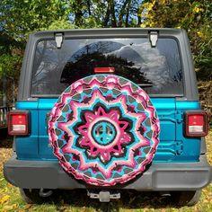 """""""Bright Peace Tire Cover ☮️✌️"""""""