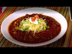 Low carb chili - YouTube