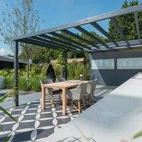 Binnen-Buiten tuin New Homes, Outdoor Structures, Kitchen, Inspiration, Ideas, Garden, Cooking, Biblical Inspiration, New Home Essentials