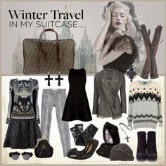 """""""In my suitcase..."""" by iggy-rouvinen ❤ liked on Polyvore"""